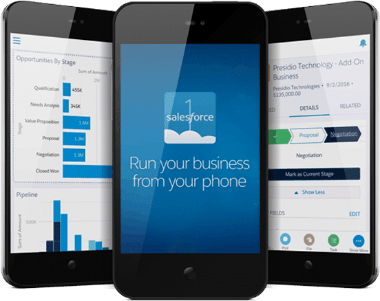 salesforce1 mobile app